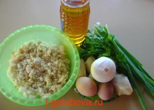 продукты для простого рыбного салата