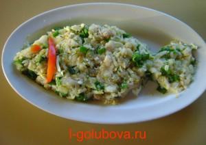 простой рыбный салат 2