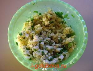 простой рыбный салат 1