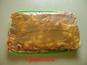 промазанное пирожное