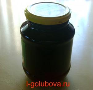 желе из чёрной смородины