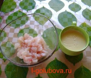 тесто и филе для рыбы в кляре