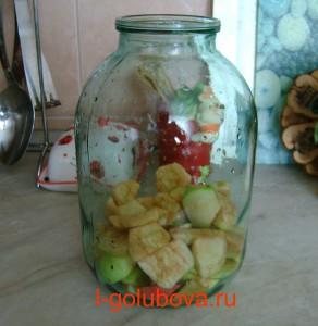 яблоки для компота