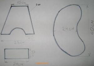 схема табурета