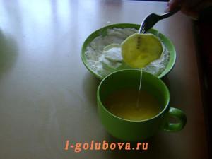кабачок в яйце