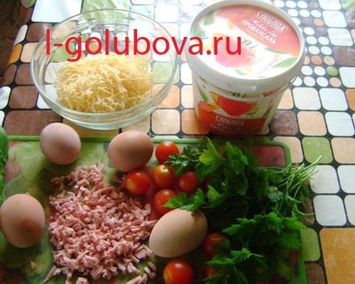produkti dlja salata